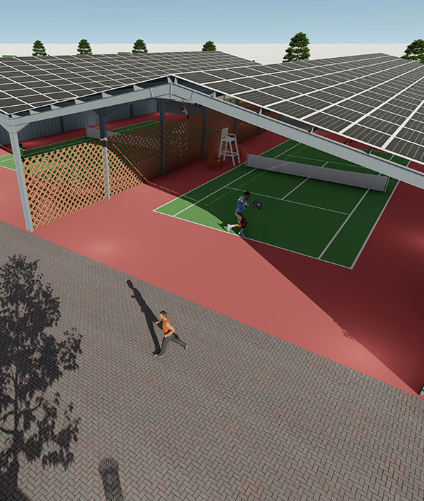Infrastructures sportives énergie renouvelable